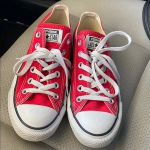 Red Short Converse